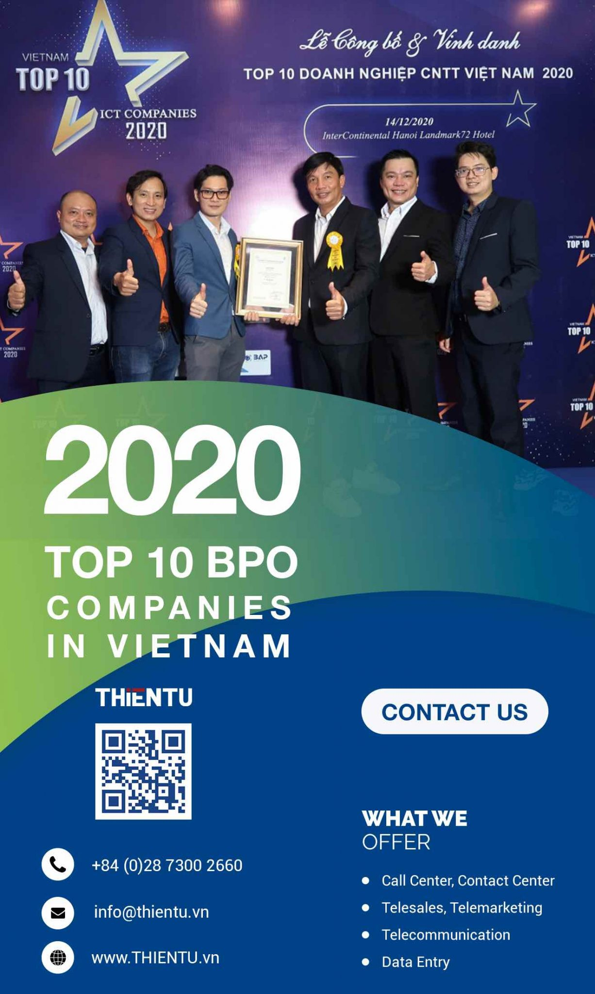 Top 10 BPO Companies in Vietnam