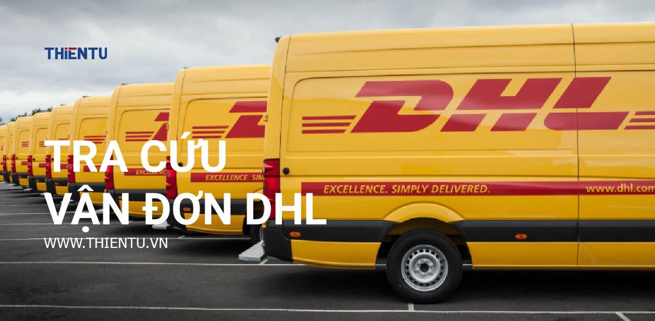 Hướng dẫn tra vận đơn DHL
