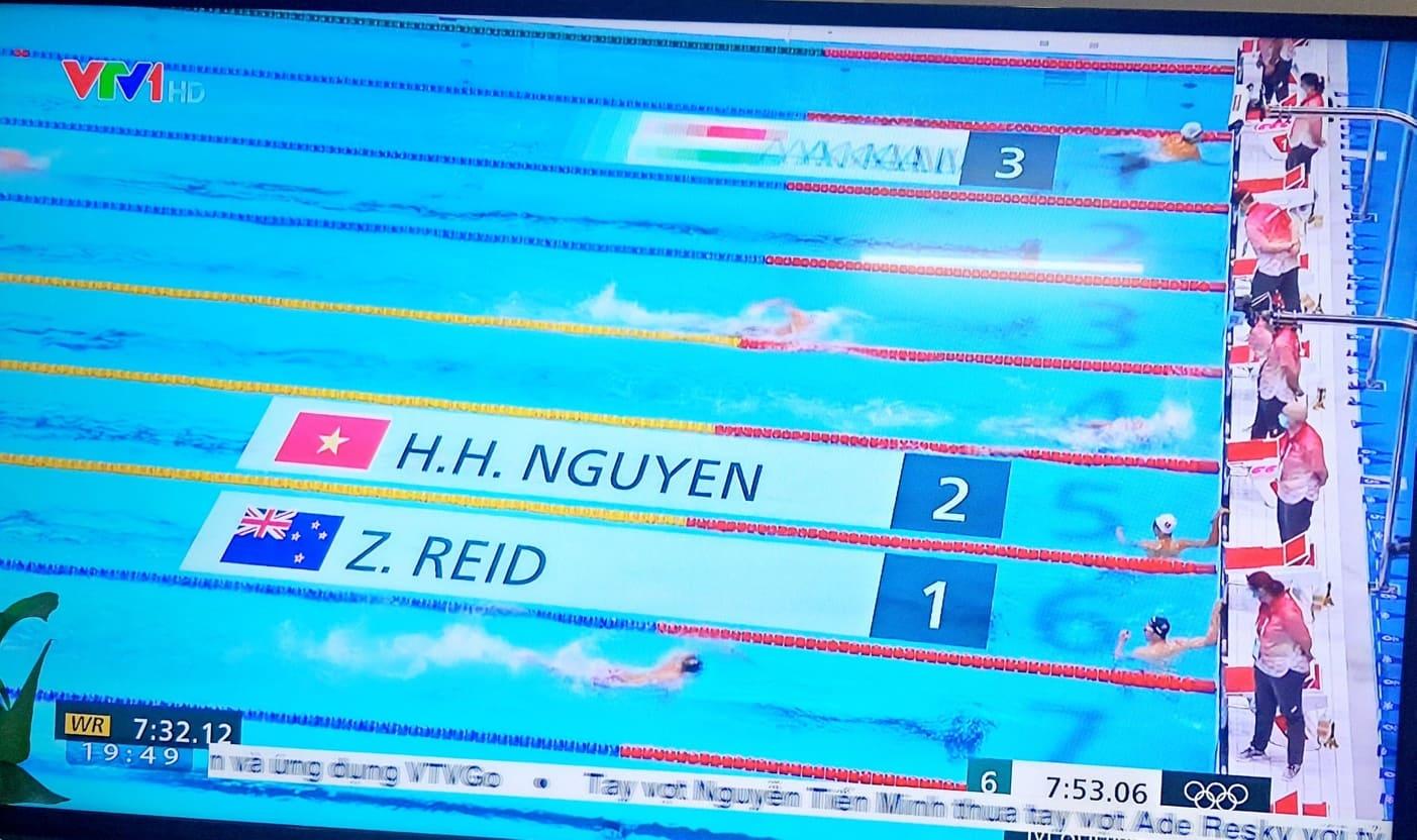 cuộc thi bơi