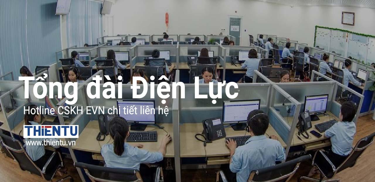 Số tổng đài CSKH điện lực Việt Nam