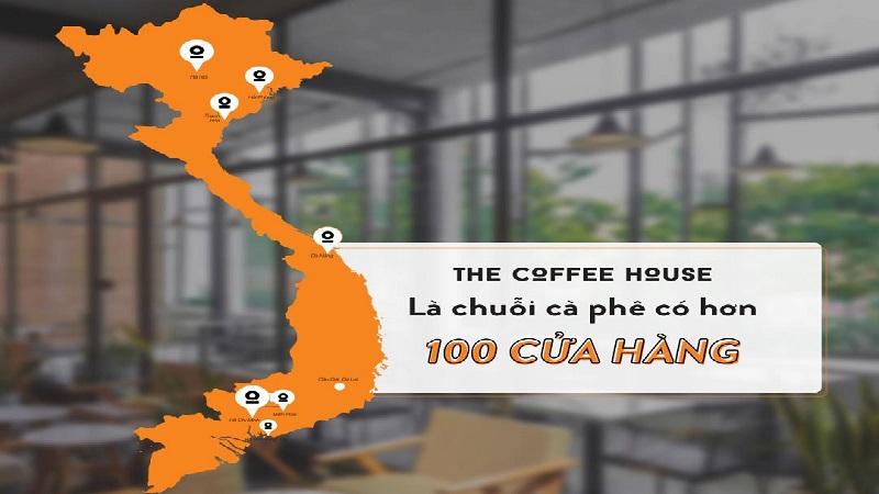 Chi tiết danh sách cửa hàng của The Coffee House