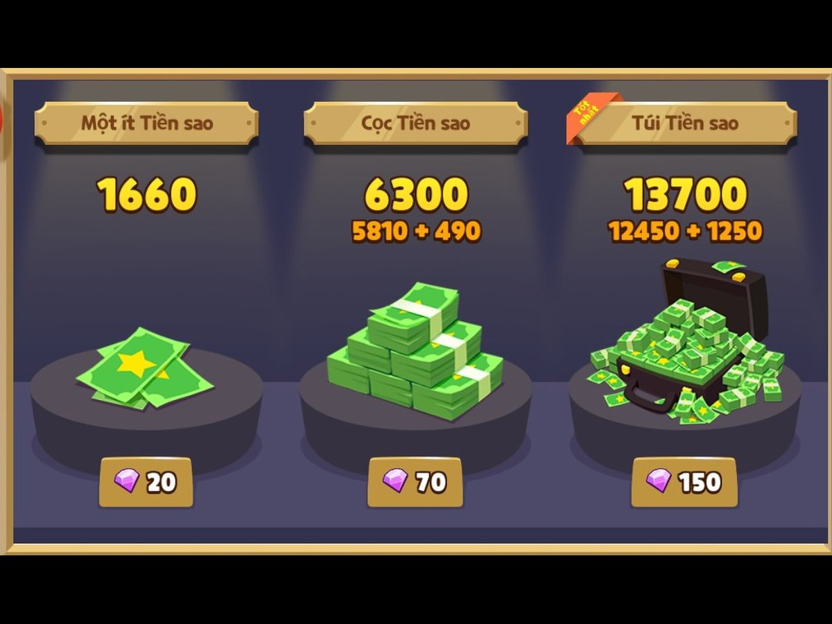 Các loại tiền trong play together là gì