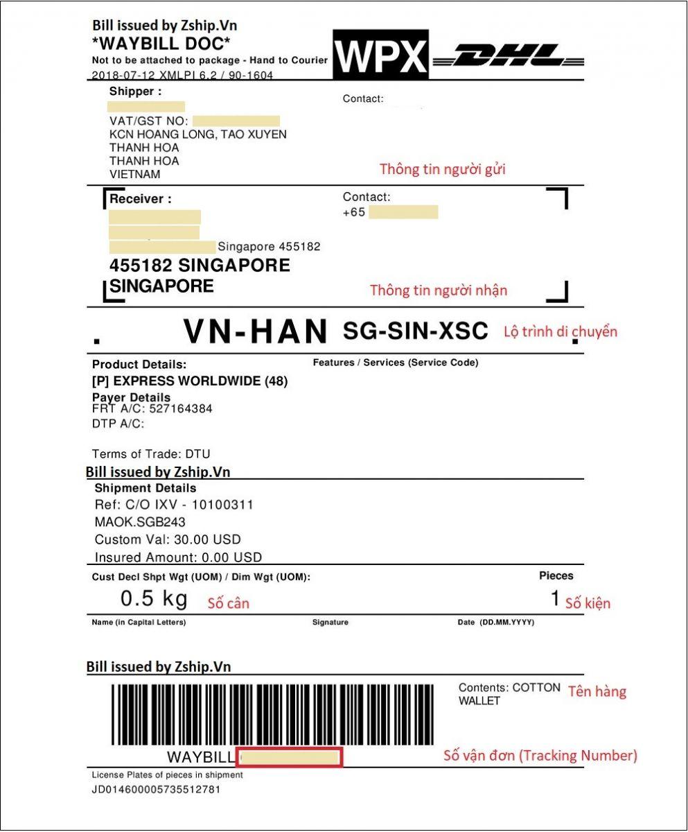Cách tra cứu vận đơn DHL ảnh 1