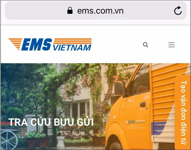 Cách tra cứu vận đơn ems đơn giản ảnh 2