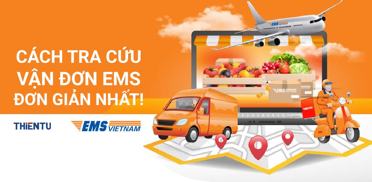 Cách kiểm tra vận đơn EMS như thế nào