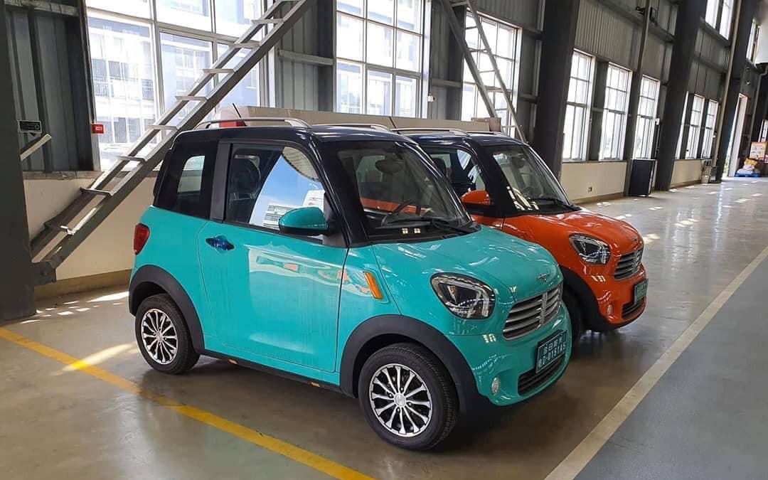 Hình ảnh chiếc xe ô tô điện giá 75 triệu