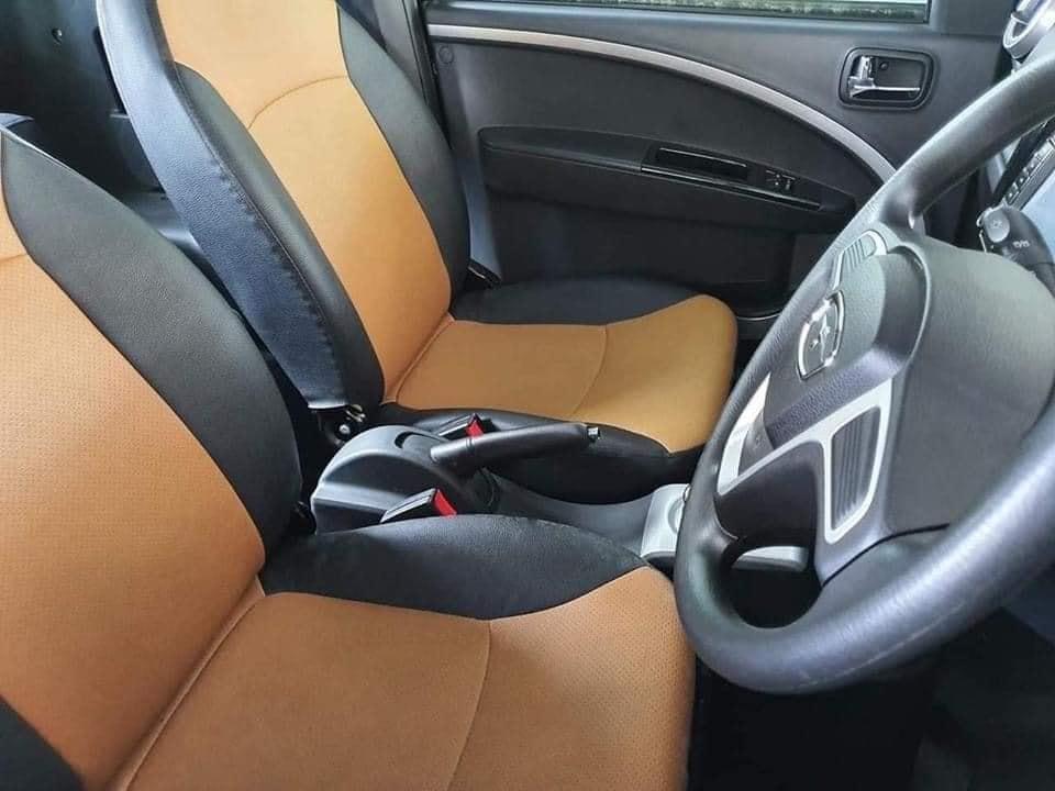hình nội thất trong chiếc ô tô điện 75tr