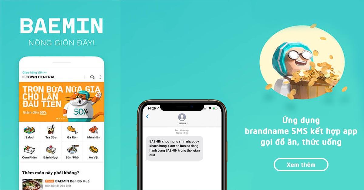 Hỗ trợ khách hàng qua ứng dụng Baemin