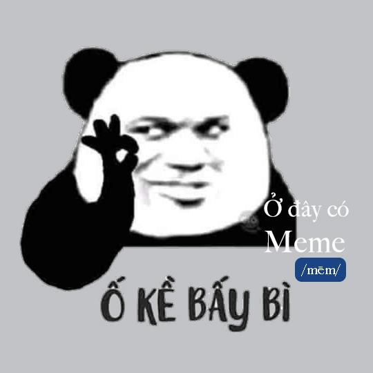 Bạn đã biết về trào lưu panda meme Biaoqing?