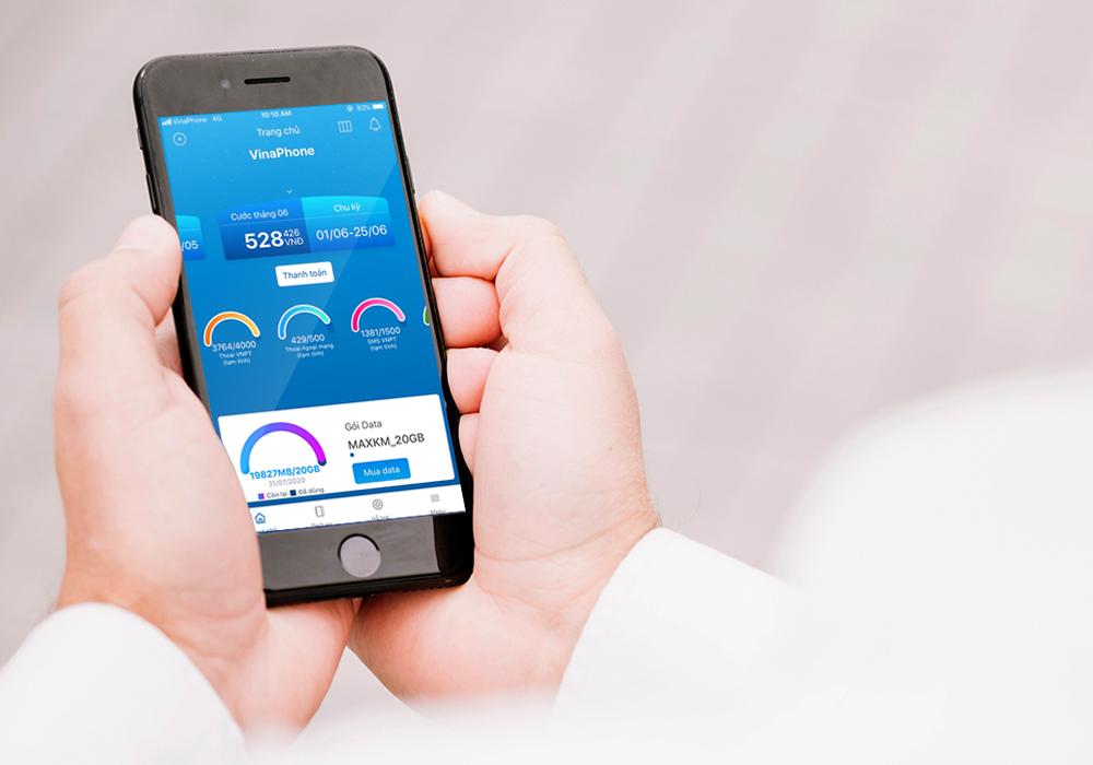 Liên hệ tổng đài VNPT thông qua app My VNPT