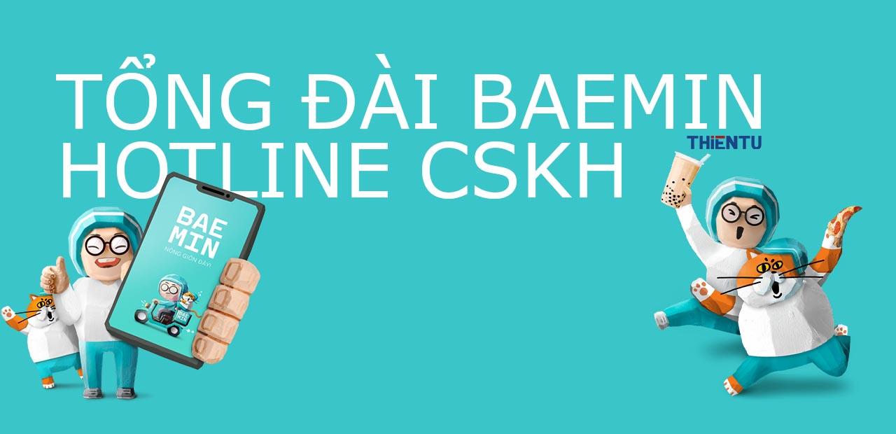 Tổng đài Baemin hotline CSKH