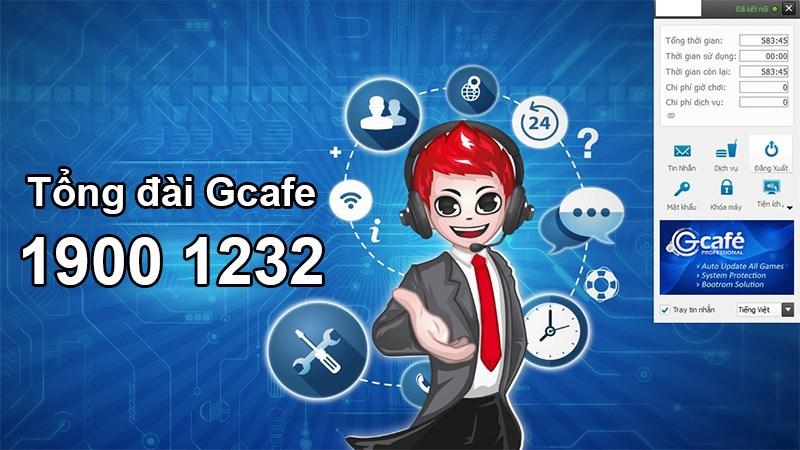 Tổng đài Gcafe hotline hỗ trợ liên hệ dịch vụ khách hàng
