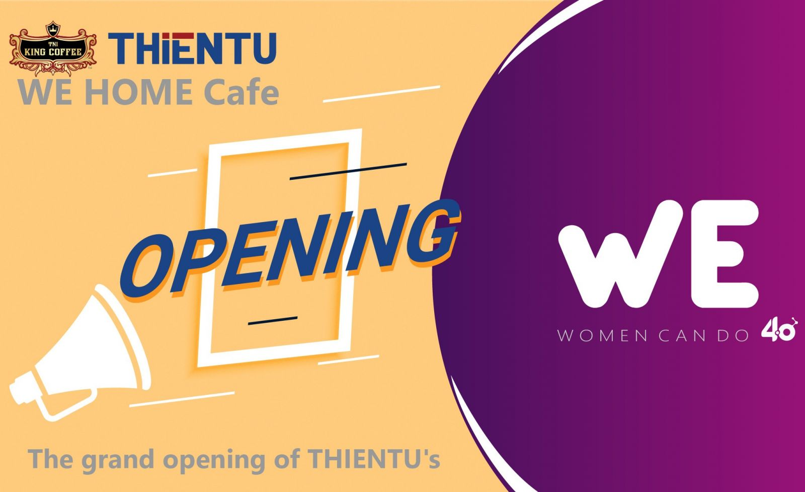 wehome cafe opening