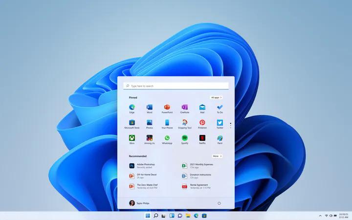 hệ điều hành windows 11 mới