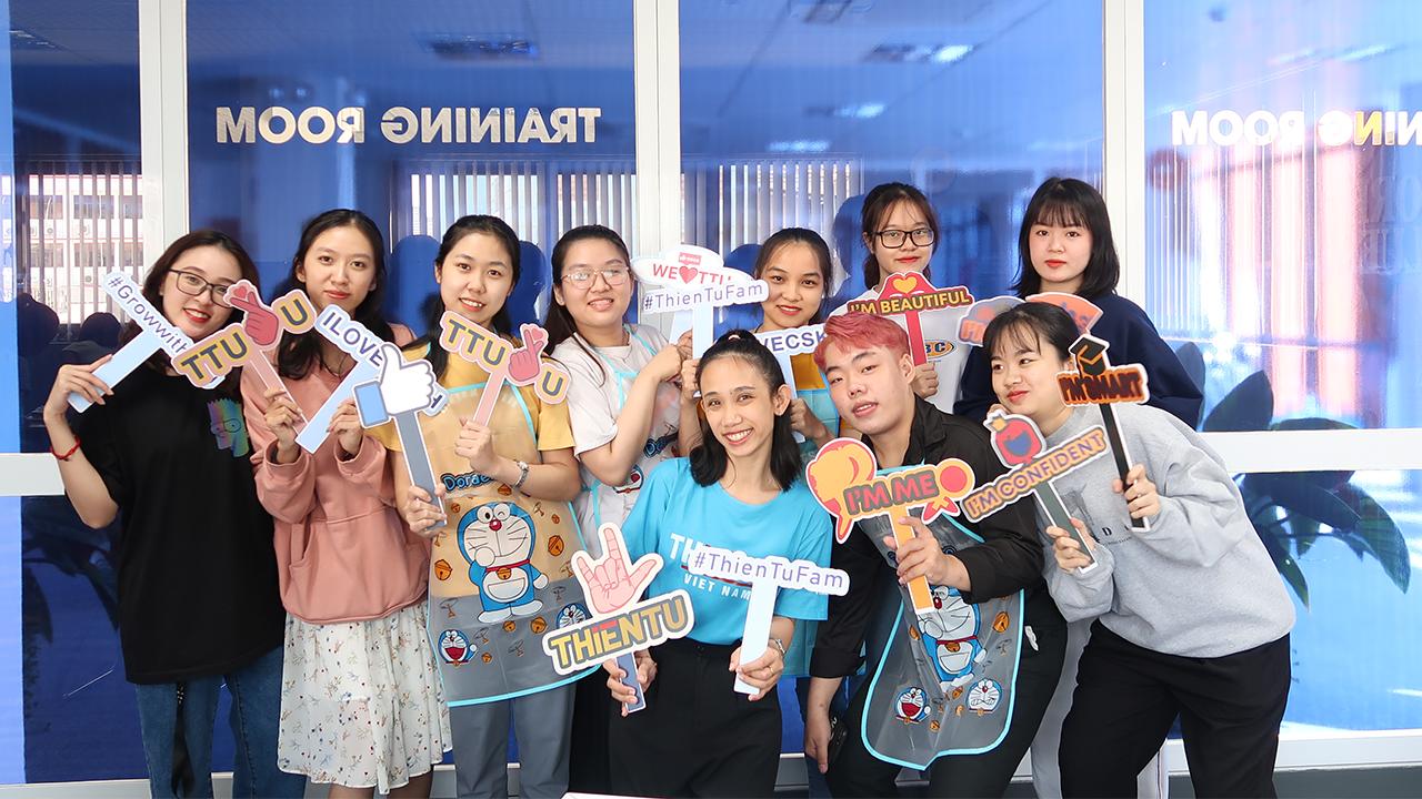 Thien Tu international women's day workshop