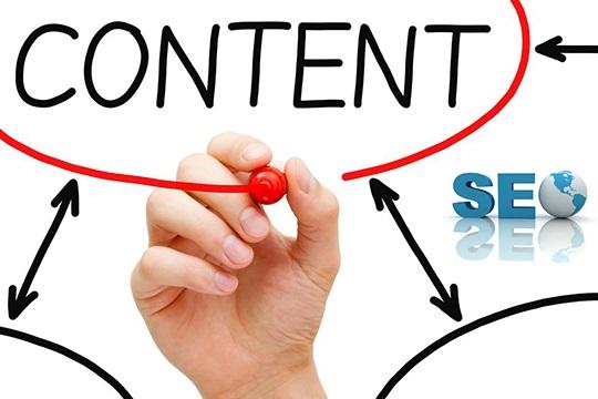 Khoanh tròn content marketing