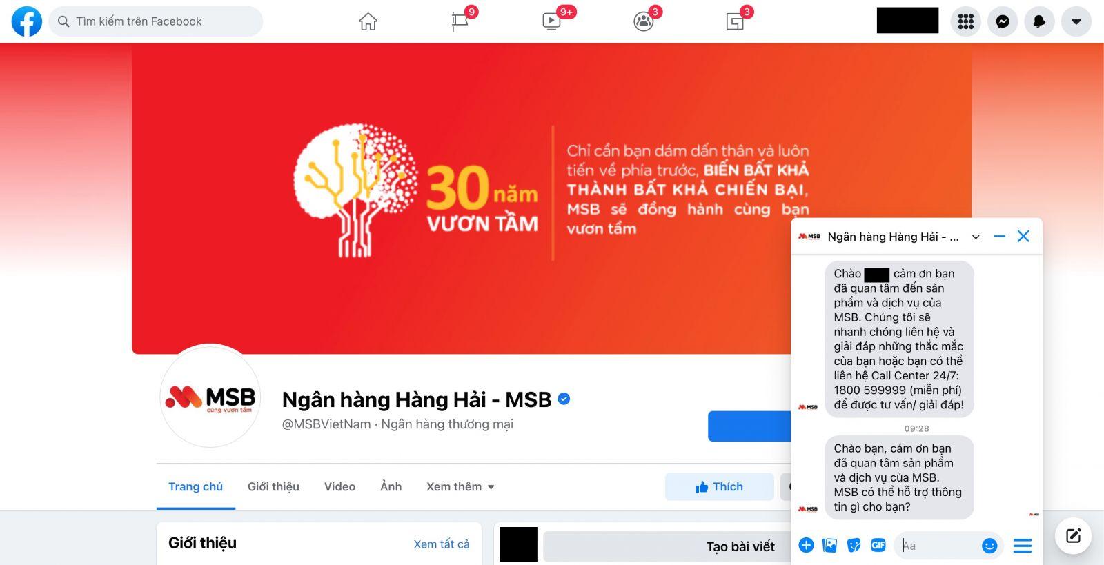 Facebooj Maritime Bank MSB