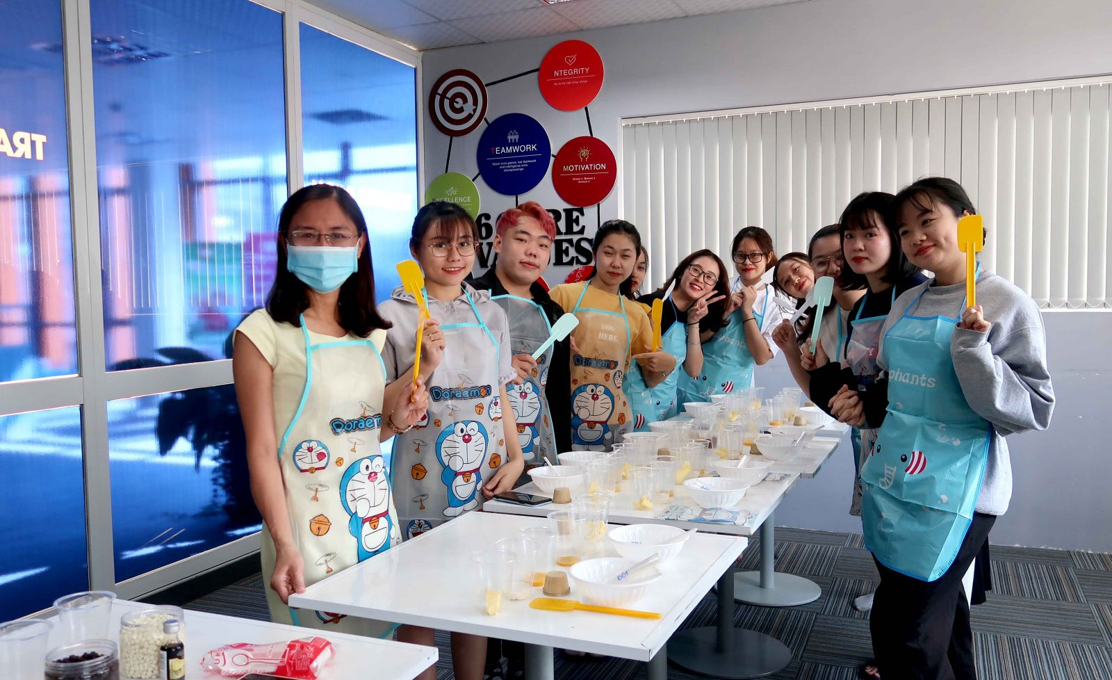 Baking class to celebrate March 8