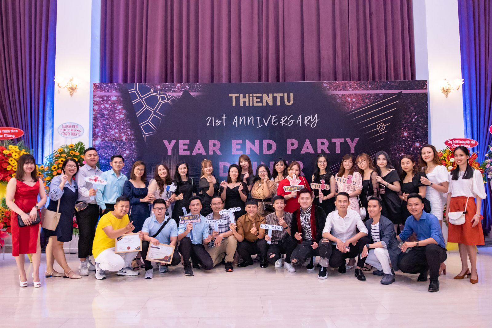 Kỷ niệm 21 năm thành lập công ty Viễn Thông Thiên Tú 2