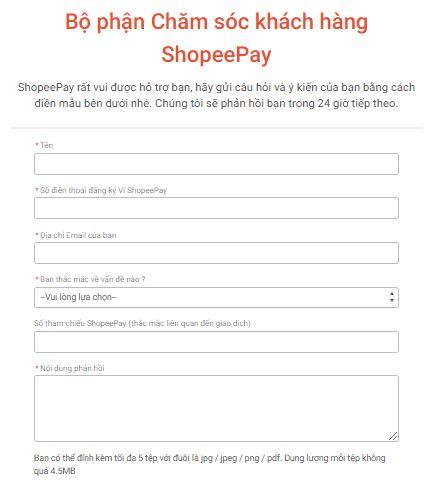 Email ShopeePay