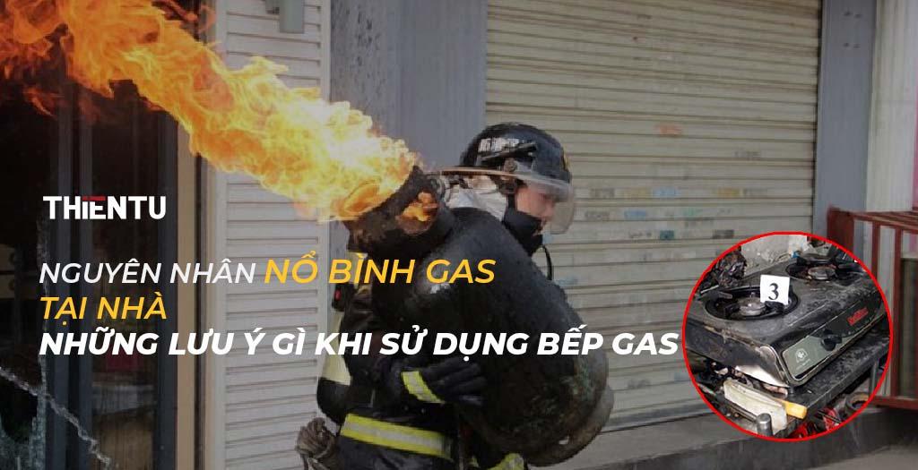 Nguyên nhân nổ bình gas tại nhà, Những Lưu ý gì khi sử dụng bếp gas