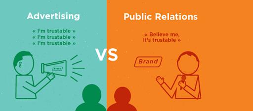 PR thuyết phục hơn quảng cáo
