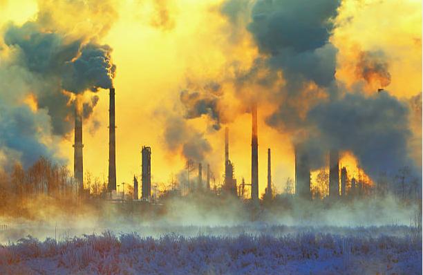 Bụi mịn PM2.5 sản sinh từ khói bụi công nghiệp
