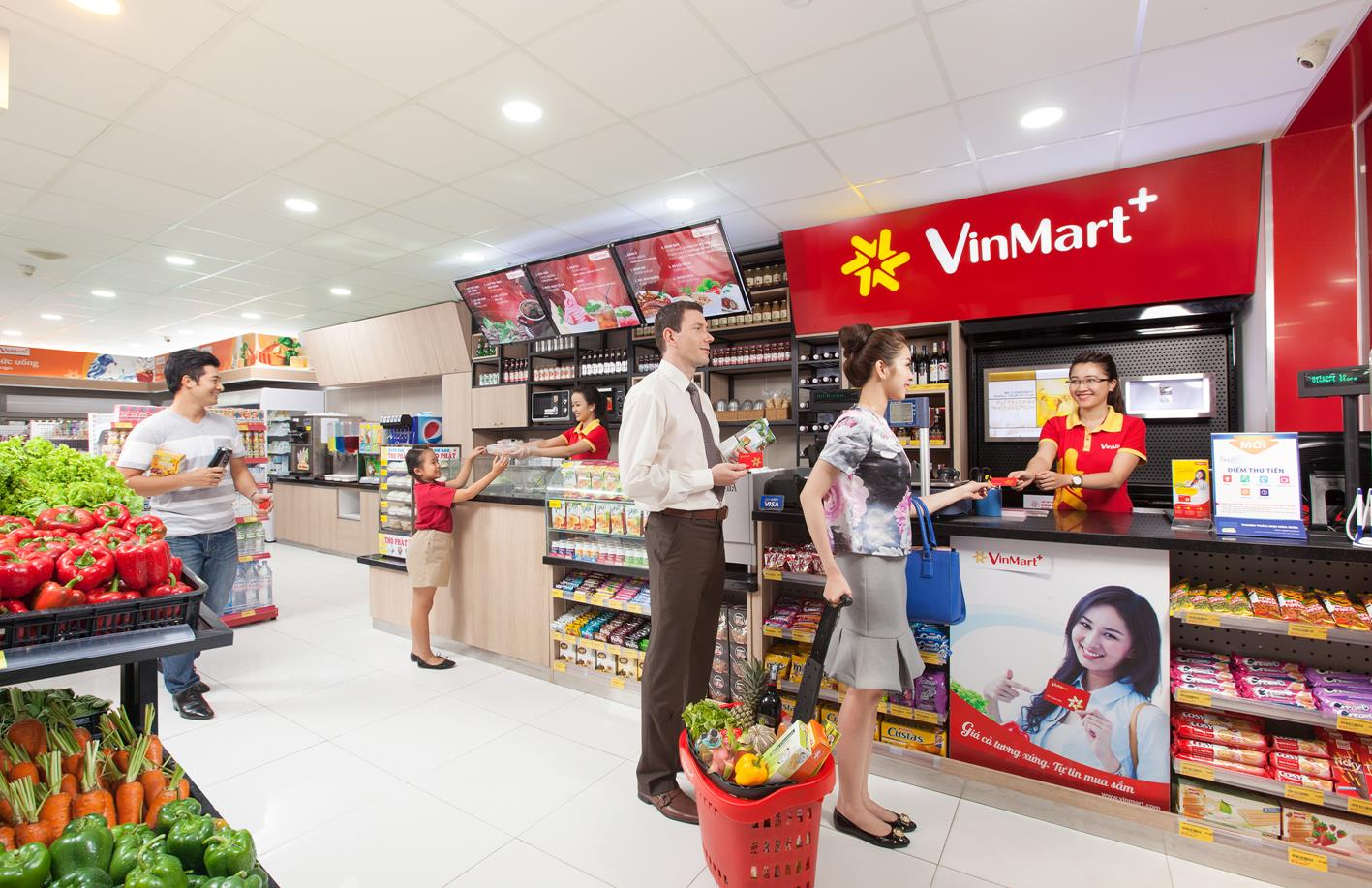 Cửa hàng tiện lợi Vinmart+