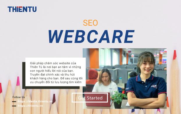 Dịch vụ quản trị website Thiên Tú
