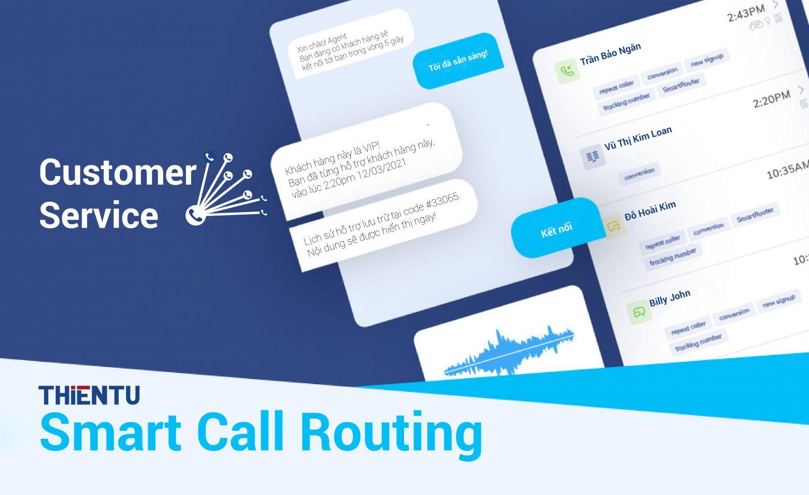 Định tuyến cuộc gọi thông minh là gì? What is smart call routing