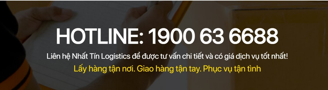 Hotline tổng đài Nhất Tín Logistics 1900636688