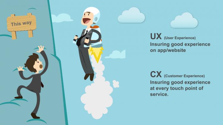 Sự khác nhau giữa CX và User Experience