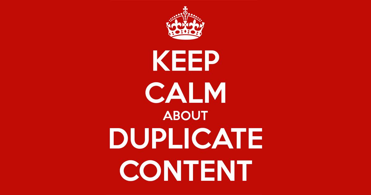 Khắc phục duplicate content bằng cách nào?