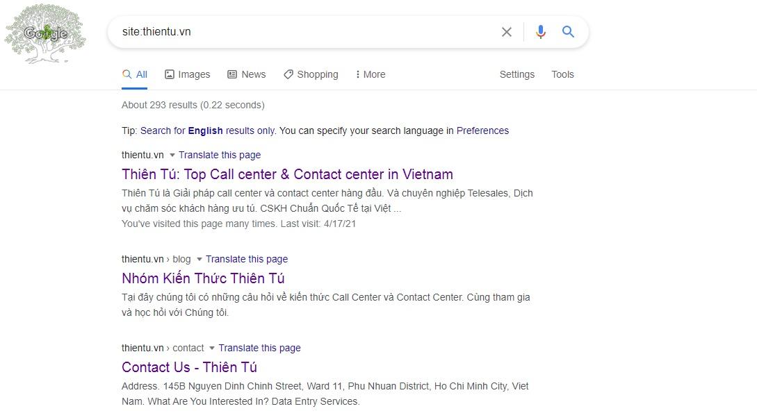 Cách Google Index