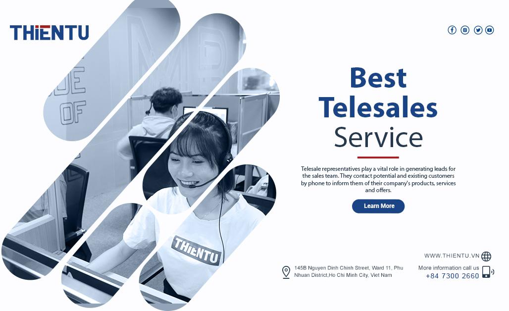 Kinh doanh hiệu quả với telesales thuê ngoài