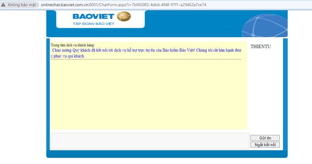 Live chat bảo việt ảnh 3