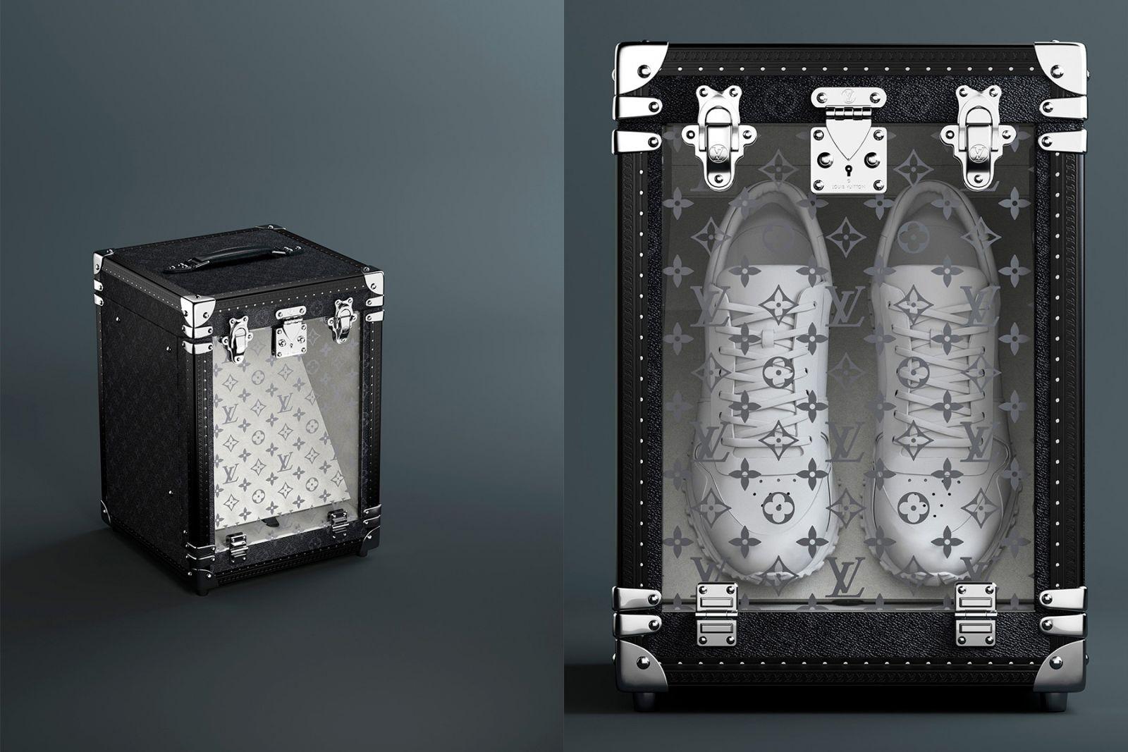 Mẫu sneaker box mới của LV làm chao đảo giới thời trang