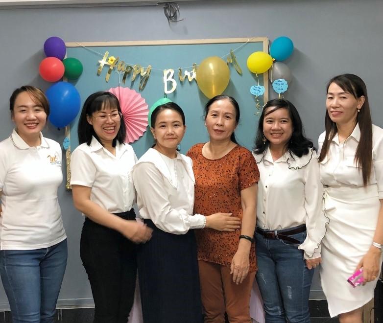 mừng sinh nhật tại Thiên Tú