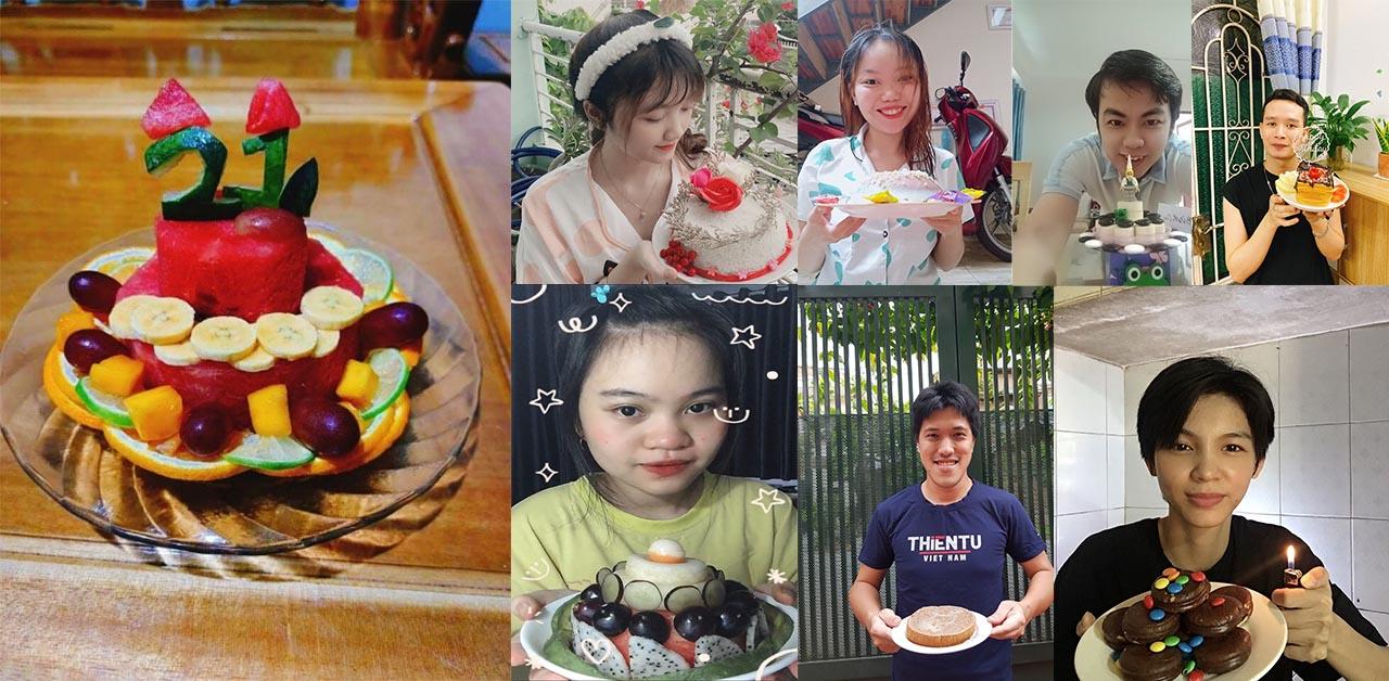 Sinh nhật online ý nghĩa tại Thiên Tú