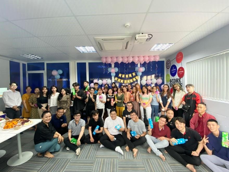 Tổ chức sinh nhật dành cho tập thể nhân viên