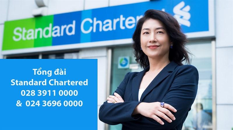 tổng đài standard Chartered