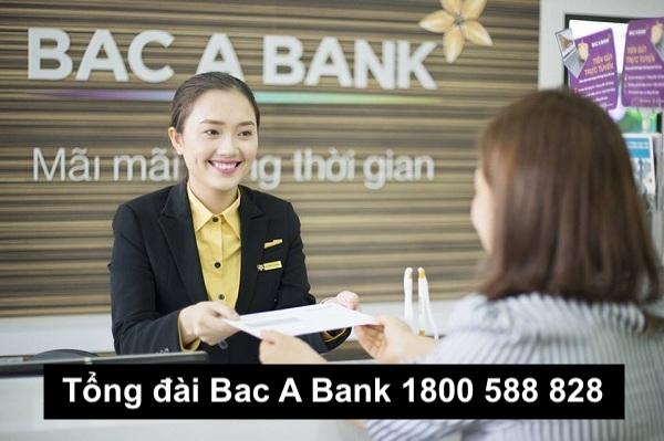 Tổng đài Bac A Bank