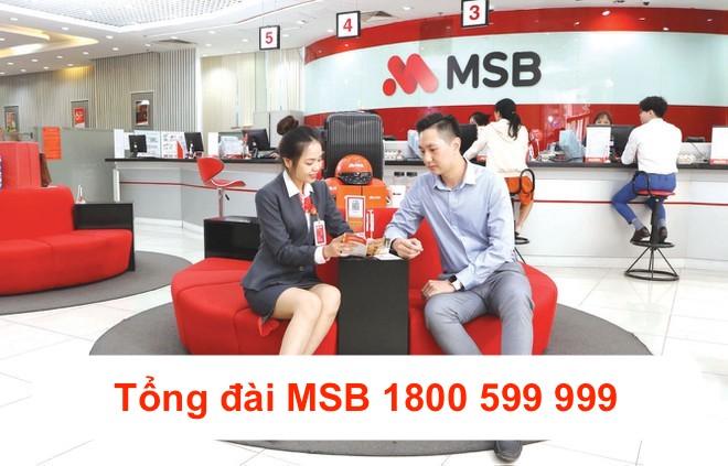 Tổng đài Maritime Bank MSB
