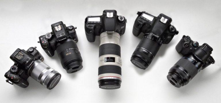 Top 5 máy ảnh từ 8 triệu gửi liền qua wifi