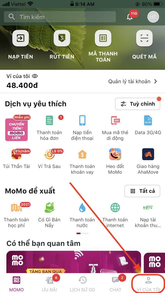 Cách liên hệ bộ phận liên hệ CSKH trên ứng dụng Momo